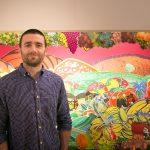 Carton loving artist unveils a fruity artwork